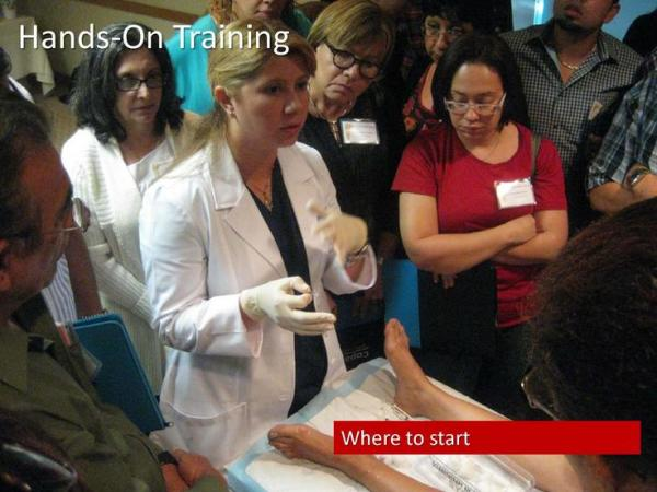 2.- Video of Hands On Training